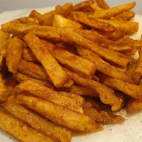 Homemade Crispy Seasoned French Fries Photos - Allrecipes.com