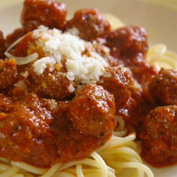 Italian Spaghetti Sauce with Meatballs Photos - Allrecipes.com