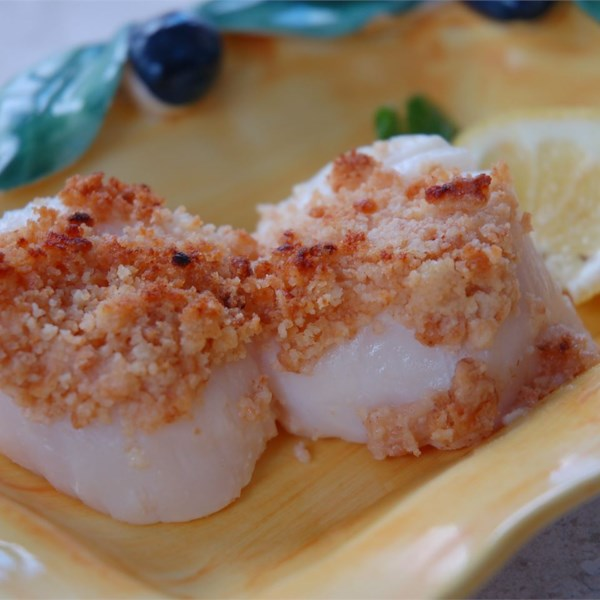 Dinah's Baked Scallops Photos - Allrecipes.com