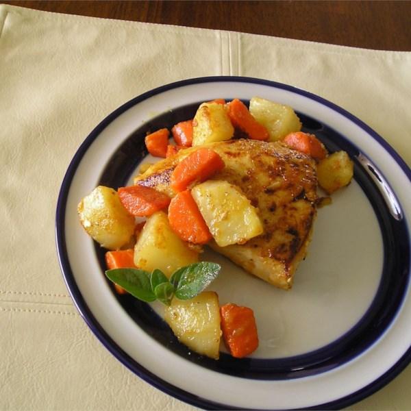 Mom's Paprika Chicken with Potatoes Photos - Allrecipes.com