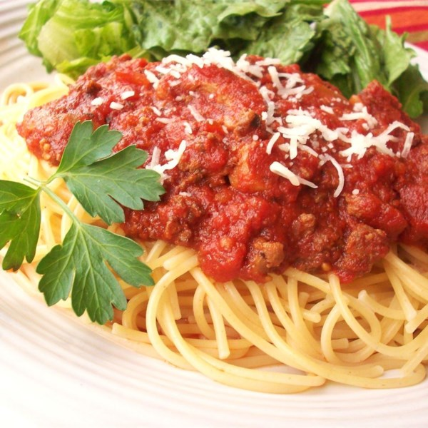 Meat-Lover's Slow Cooker Spaghetti Sauce Photos - Allrecipes.com