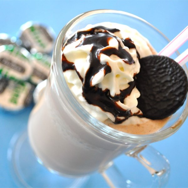 Chocolate Mint Milkshake