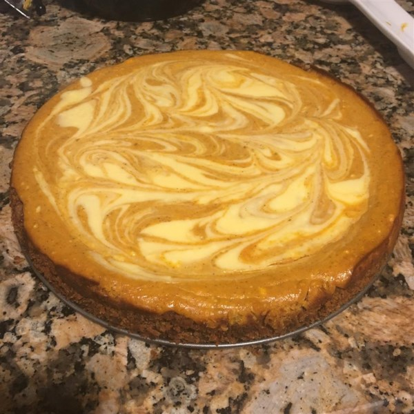 Marbled Pumpkin Cheesecake Photos - Allrecipes.com