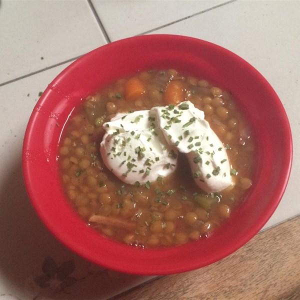 Slow Cooker Lentil and Ham Soup Photos - Allrecipes.com