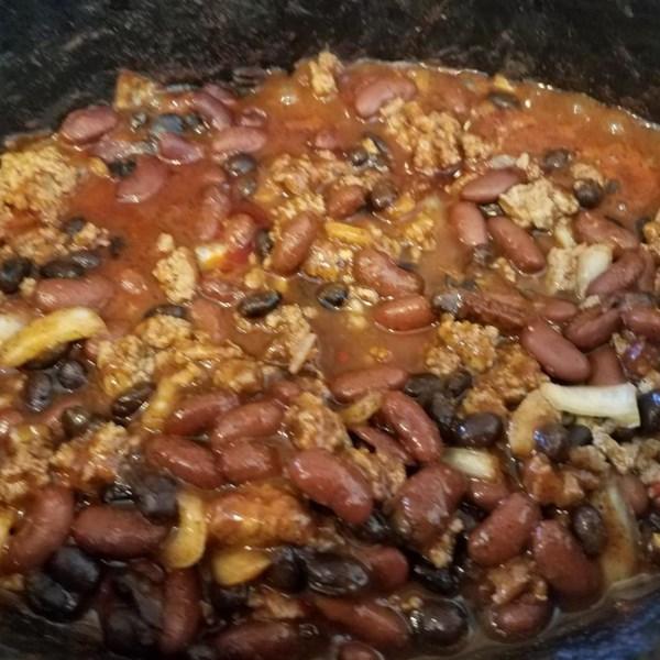 Laura's Quick Slow Cooker Turkey Chili Photos - Allrecipes.com