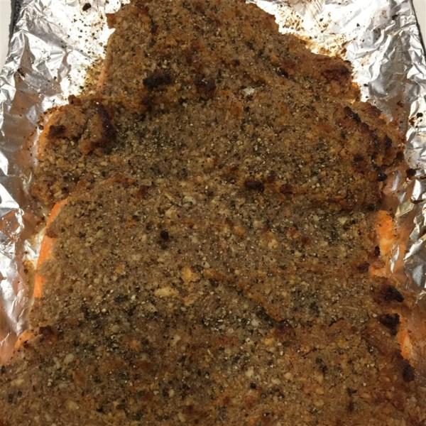 Alaska Salmon Bake with Pecan Crunch Coating Photos ...