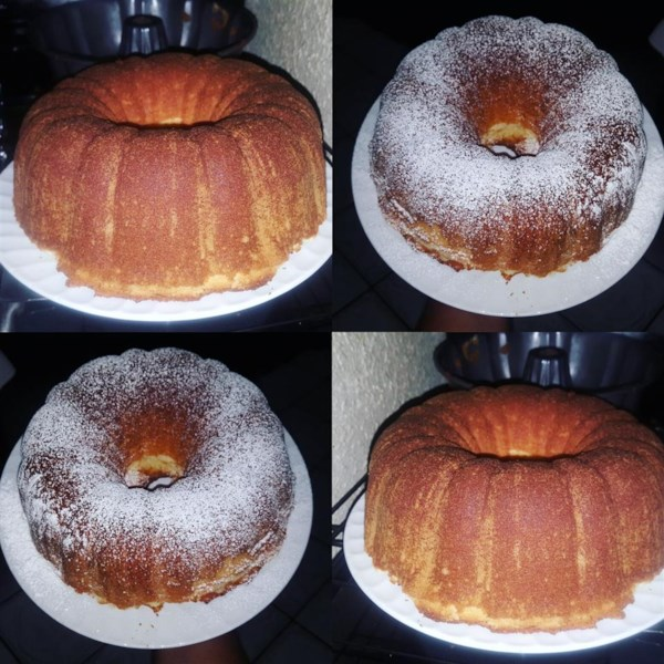 Low Calorie Sour Cream Pound Cake Recipe