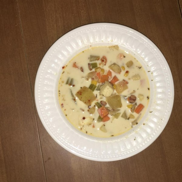 Slow cooker fish chowder photos for Crockpot fish chowder