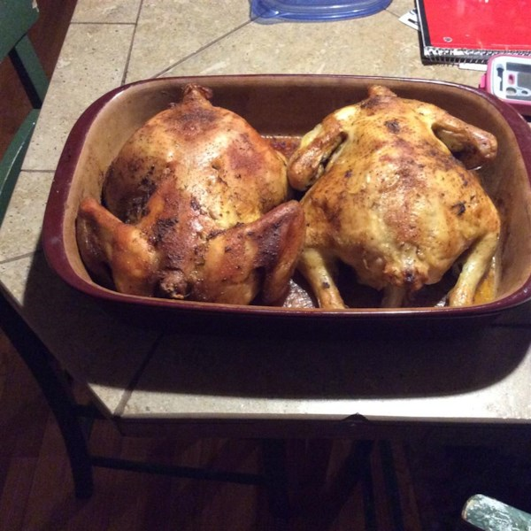 Roast Sticky Chicken-Rotisserie Style Photos - Allrecipes.com