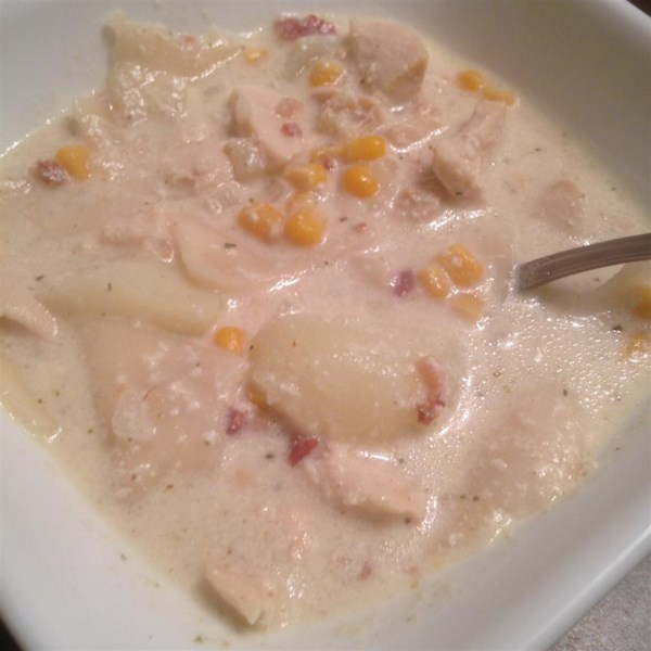 Bacon Chicken And Dumplings Recipe — Dishmaps