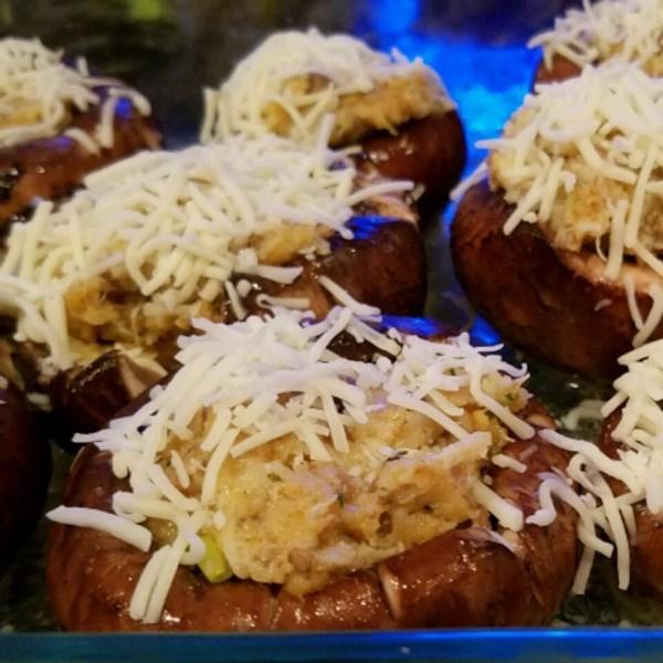 Savory Crab Stuffed Mushrooms Photos - Allrecipes.com