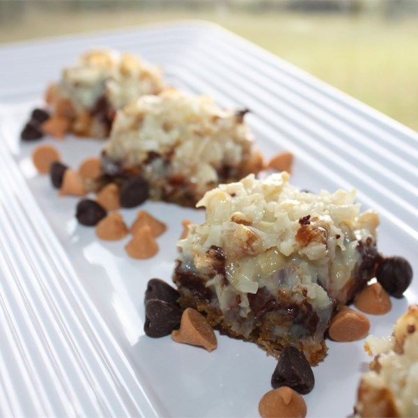 Seven Layer Magic Cookie Bars..