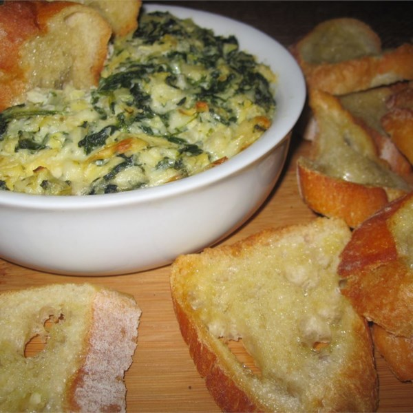Hot Artichoke Spinach Dip