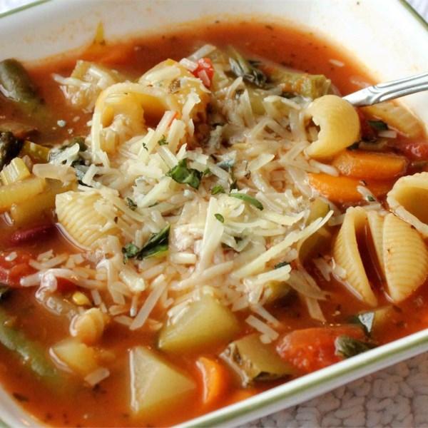 Jamie 39 s minestrone photos for All about italian cuisine