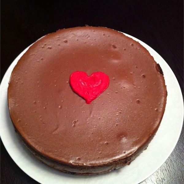 Chocolate Cappuccino Cheesecake Recipe — Dishmaps