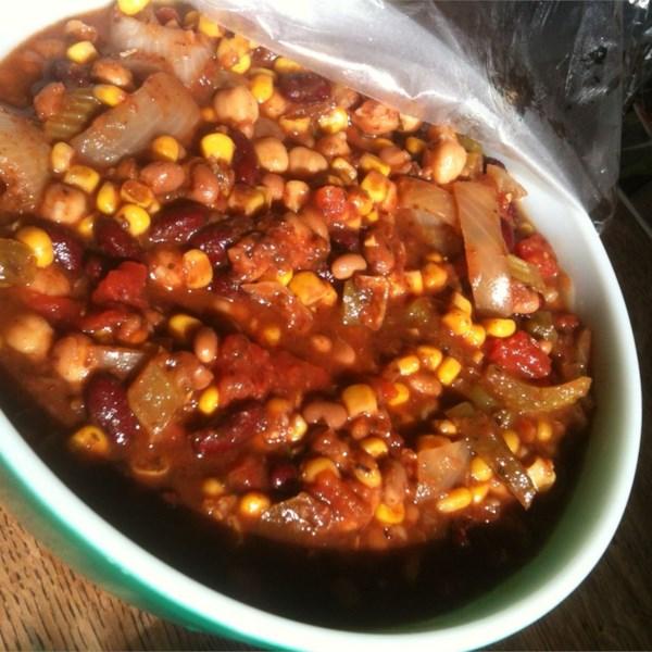 Grandma's Slow Cooker Vegetarian Chili Photos