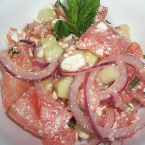 Refreshing Cucumber Watermelon Salad Photos - Allrecipes.com