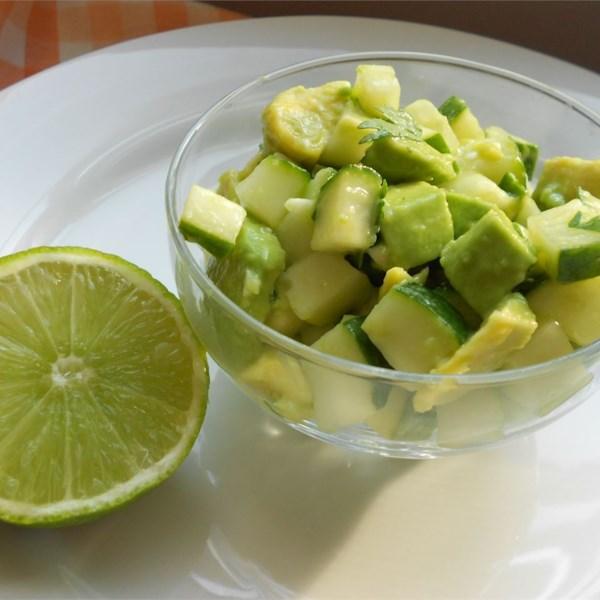 Tangy Cucumber and Avocado Salad Photos - Allrecipes.com