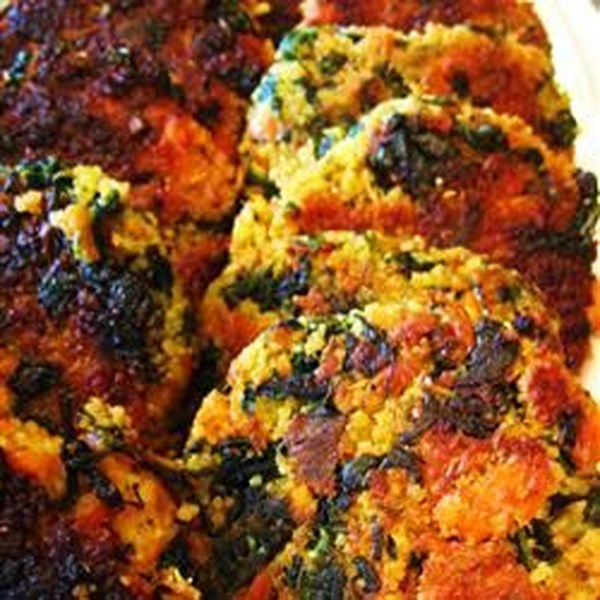Moroccan Salmon Cakes with Garlic Mayonnaise Photos - Allrecipes.com