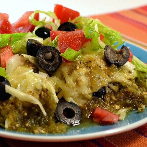 Authentic Enchiladas Verdes Recipe — Dishmaps