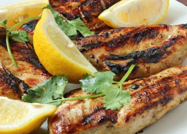 Greek Style Garlic Chicken Breast