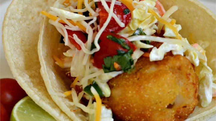 Baja style fish tacos recipe for Fish burrito recipe