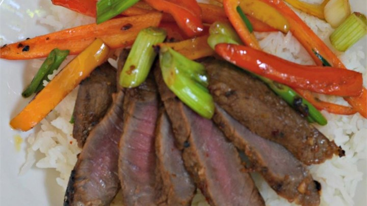 Asian Flair Flat Iron Steak