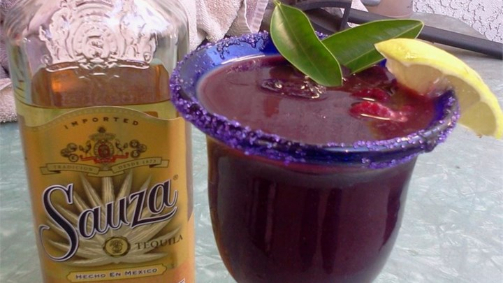 Purple and Gold Margarita