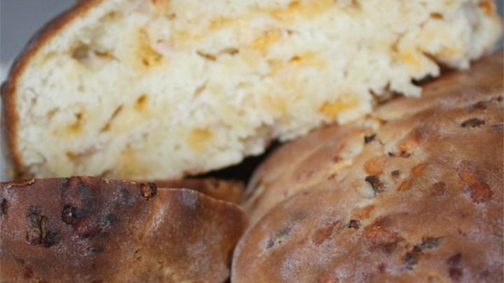 Jim's Cheddar Onion Soda Bread