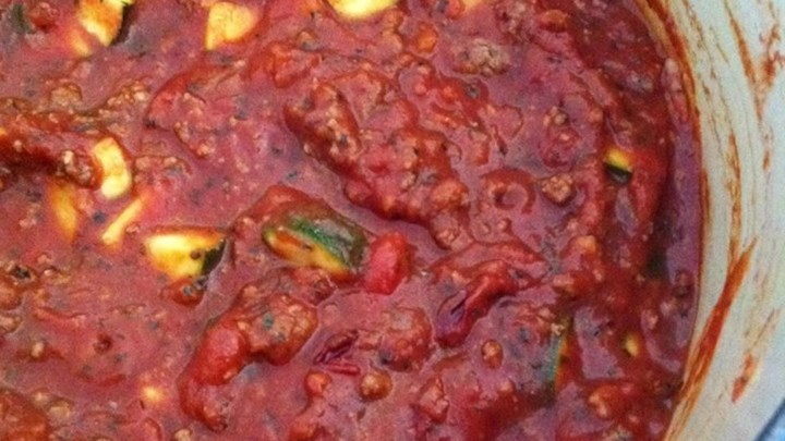 Clean Eating Hearty Pasta Sauce
