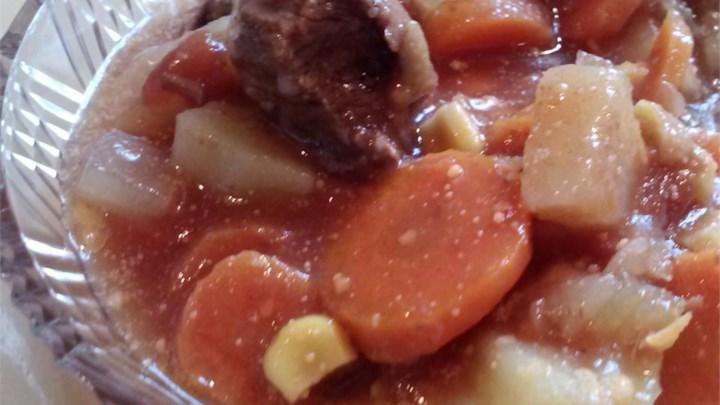 Garden Fresh Vegetable Beef Soup