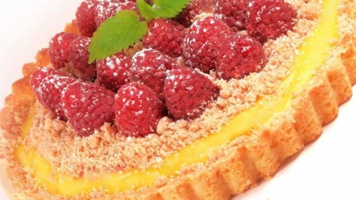 Raspberry Streusel Tart