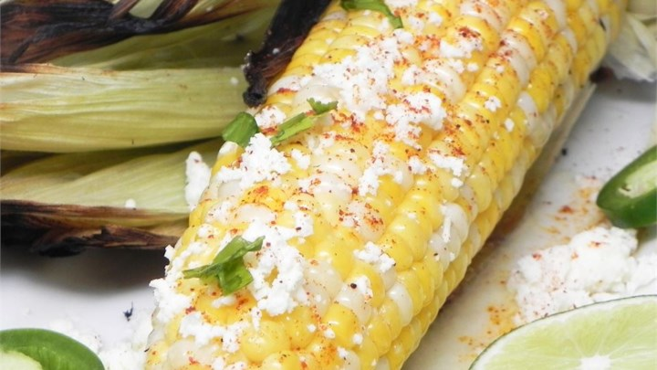 Mexican Corn on the Cob (Elote)