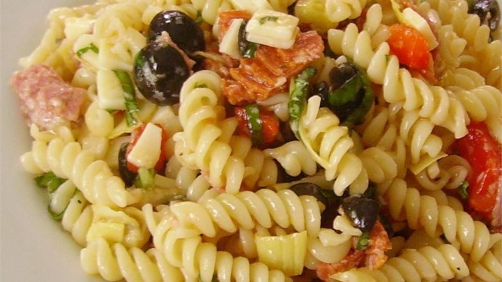 Quick Antipasto Pasta Salad