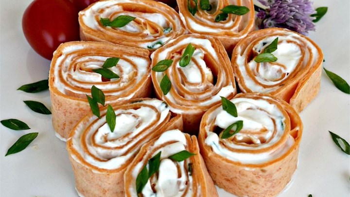 Burrito canapes recipe for Canape receipes