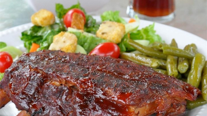 Steve's Bodacious Barbecue Ribs