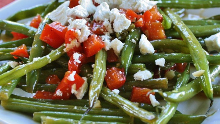 Arica's Green Beans and Feta Recipe - Allrecipes.com
