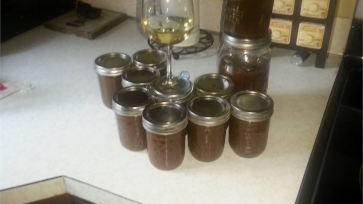 Rhubarb Barbeque Sauce