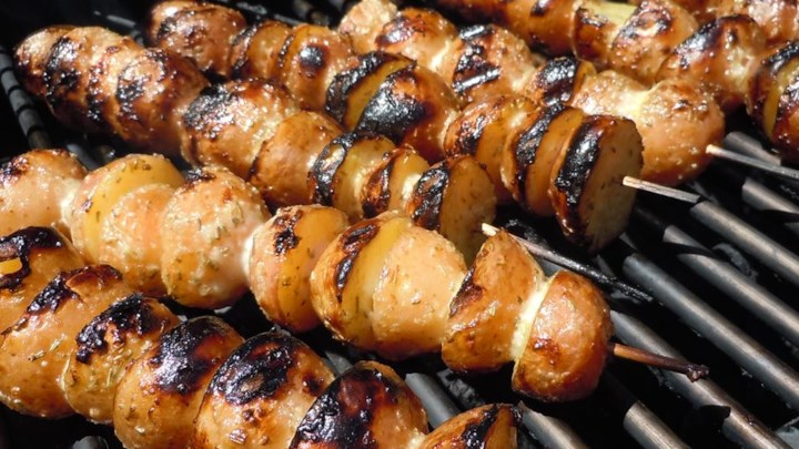 Skewered Grilled Potatoes Recipe - Allrecipes.com