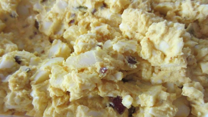 Indian-Inspired Egg Salad