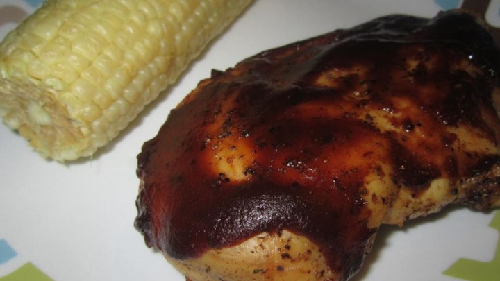 The Best Barbequed Chicken Ever