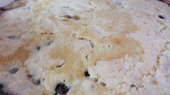 Blueberry Mystery Cake