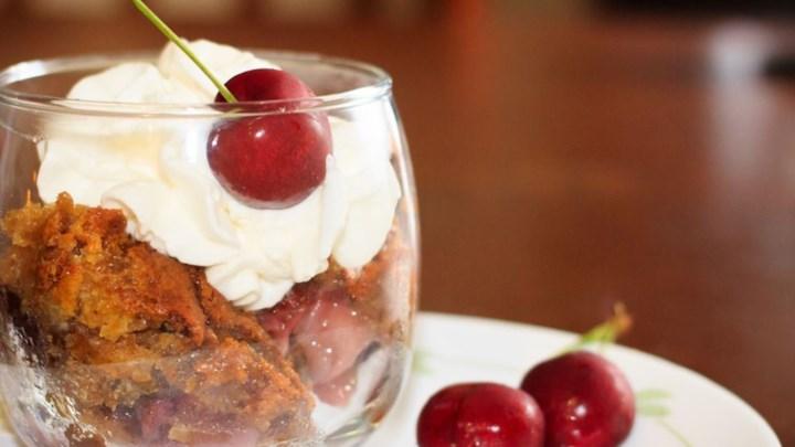 Fresh Cherry Cobbler