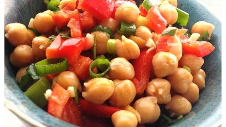 Cumin and Coriander Chickpea Salad