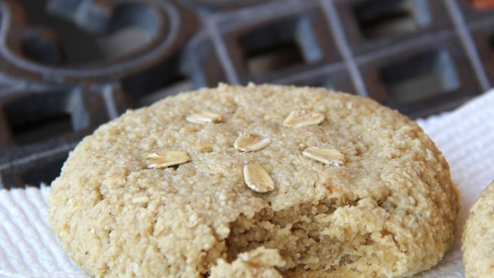 Easy Roasted Almond Cookies