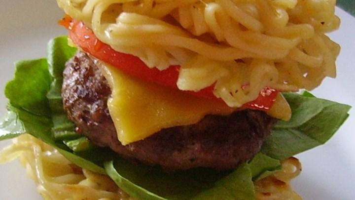 ramen recipe instant vegetarian Hamburgers Main Recipes Dish Home Burgers