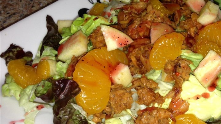 Tuna  and Mandarin Salad