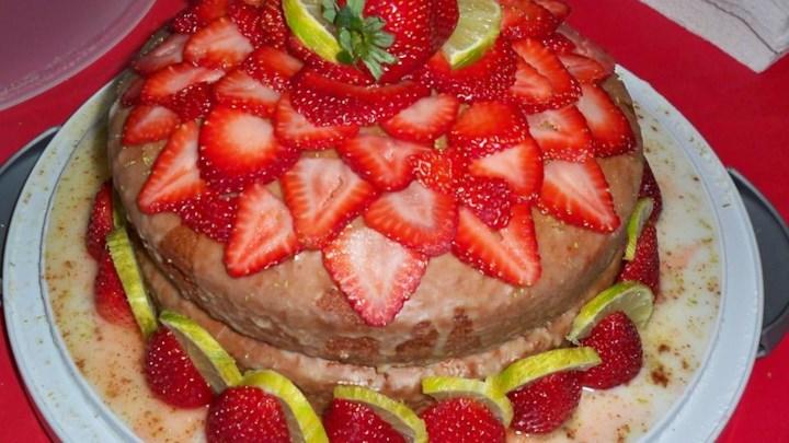 Margarita Tube Cake