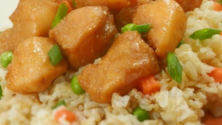 Wolf's Bourbon Chicken