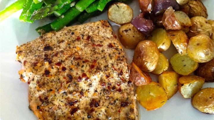 Chef John's Baked Lemon Pepper Salmon